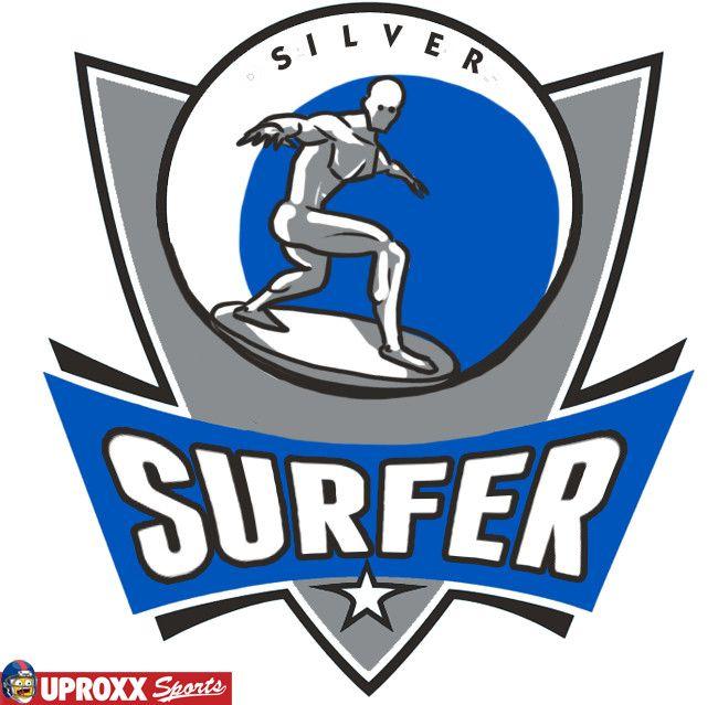 NBA super héros : Surfeur d'Argent - Mavericks