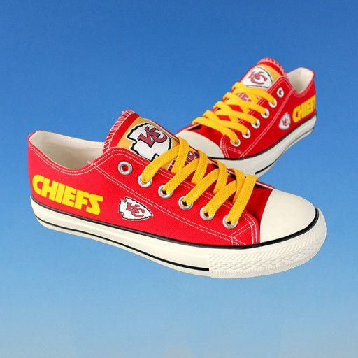49e4e50f Kansas City Chiefs shoes women KC Chiefs sneakers Football fans ...