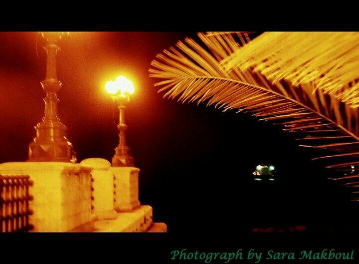 Night view in Taranto , Puglia