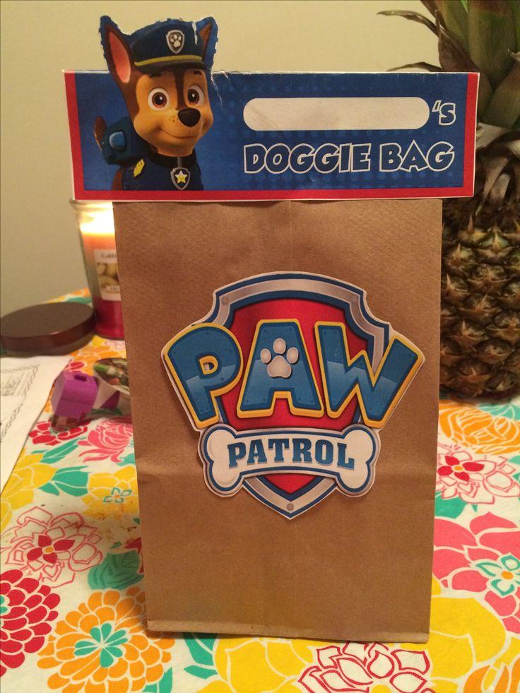 Paw Patrol Doggie Bags