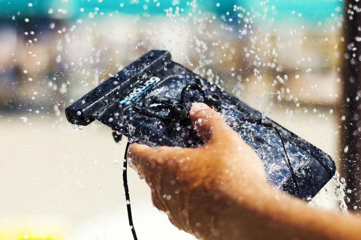 Seawag in black, featuring waterproof head phones..