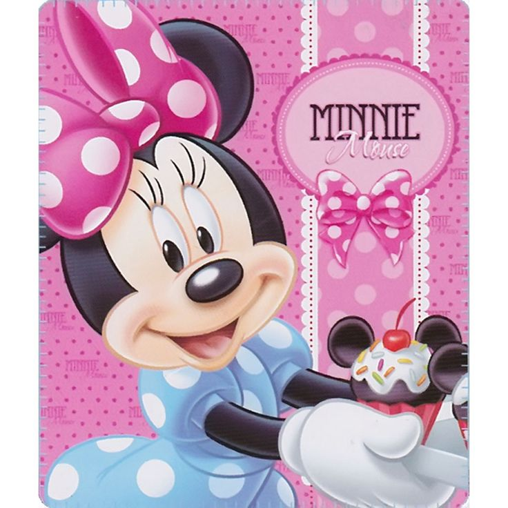 Minnie Mouse Cupcakes Blanket from Funstra Toys