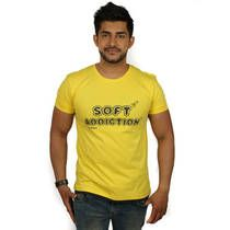 Magnoguy Yellow Cotton T-Shirt