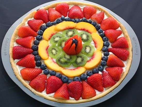 Recipe for Fruit Pizza   Two Peas & Their Pod