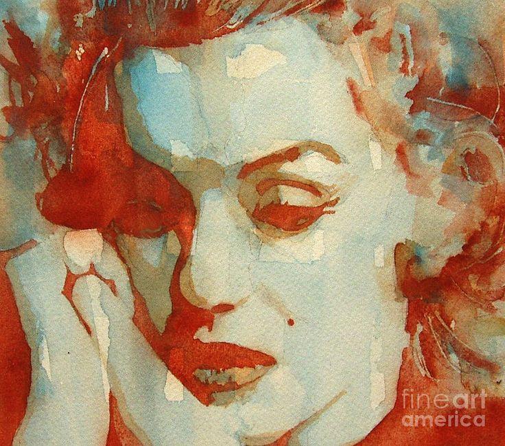Marilyn Monroe Painting - Fragile by Paul Lovering