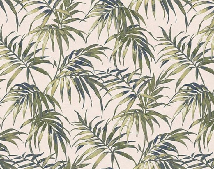 Palm tree wallpaper | Interior inspiration | Pinterest ...