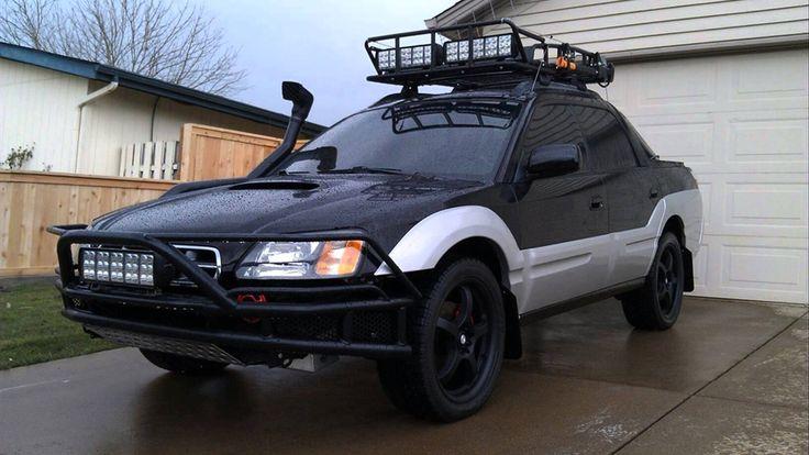 Ryan Callas's off-road ready 2003 Subaru Baja. Have Baja will travel.