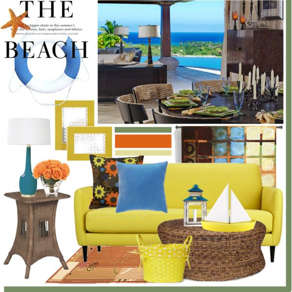 The Beach, created by andi on Polyvore
