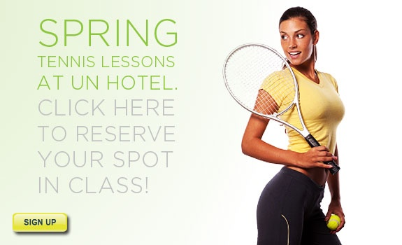 TennisTIP.com: Spring Tennis Lessons NYC.  Attracted a lot of Men!  ; )
