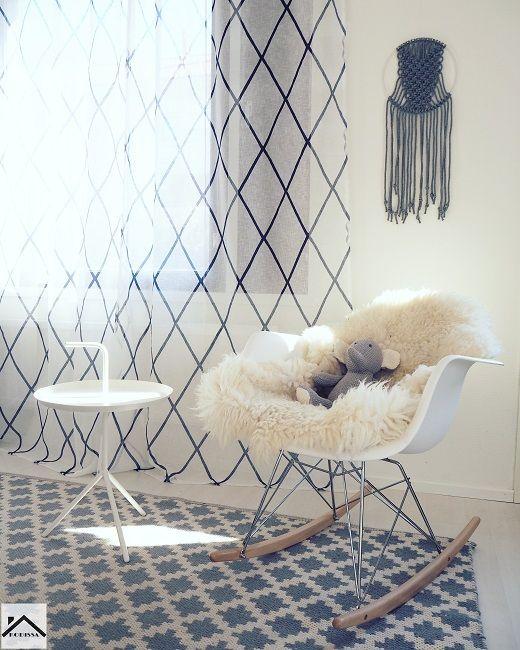 Swing chair+Macrame Photo: Sonja|Kodissa Blog