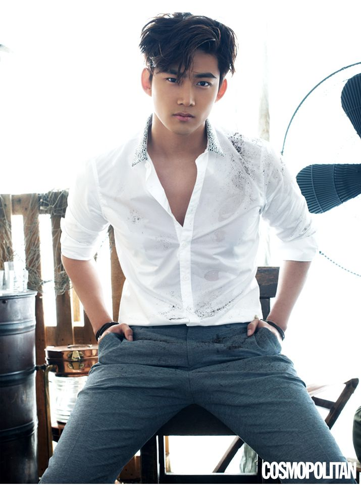 Taecyeon - Cosmopolitan Magazine May Issue '15