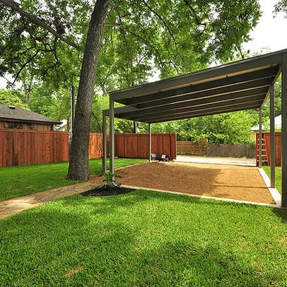 24 best images about carport on pinterest for Carport flooring ideas
