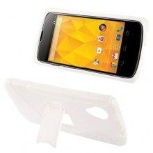 Funda Nexus 5 - Sline con Stand Blanco  € 7,99
