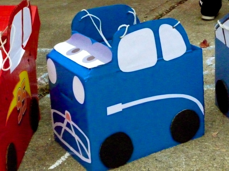 Party Cars Tow Cake Ideas and Designs