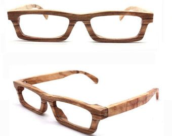THANKS handmade purple wood wooden eyeglasses glasses by TAKEMOTO
