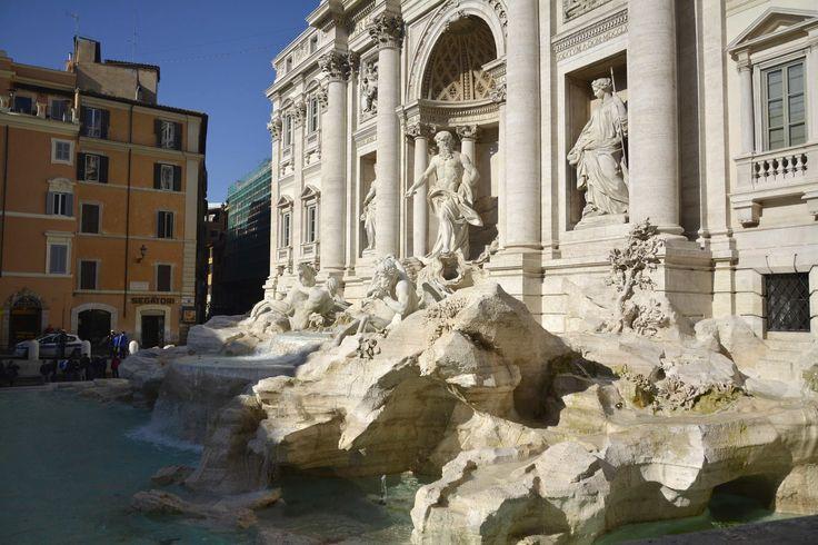 Fontana di Trevi, Fonte de Trevi, Trevi Fountain, Roma, Italia, Italy