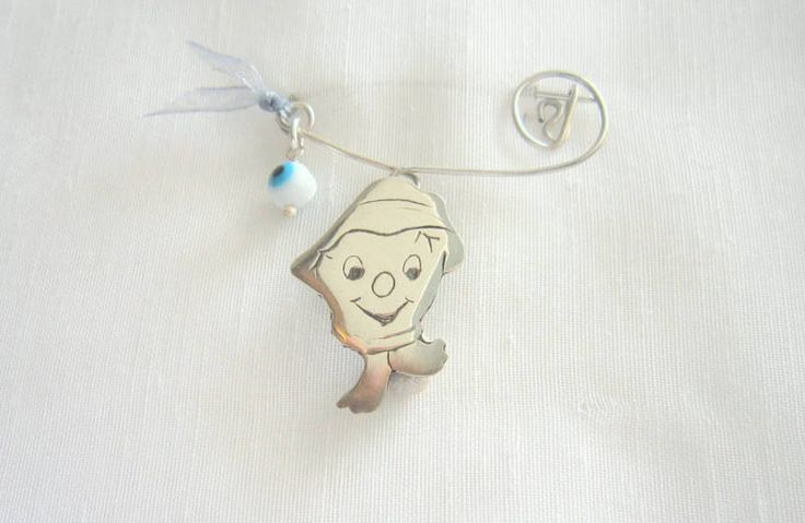 handmade safety pin by KORMENTZACREATIONS on Etsy