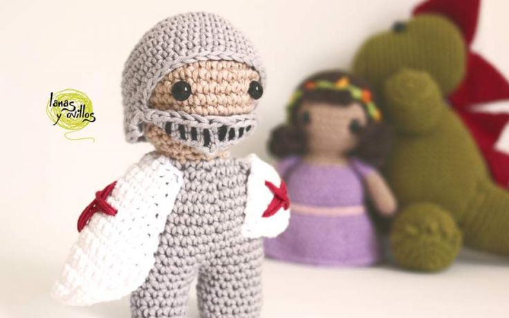 knight amigurumi free pattern crochet with video tutorial