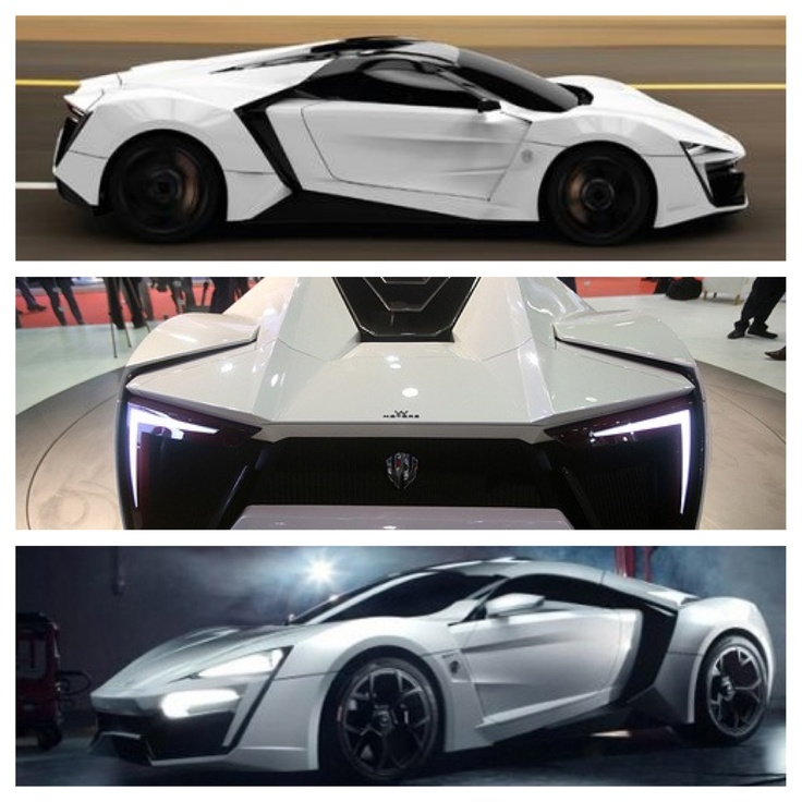"""Exotic The 10 Most Expensive Cars In The World Updated: W Motors """"Lycan Hypercar"""" 3.4 Million Dollars"""