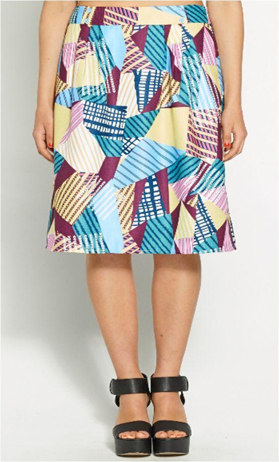 Vintage midi skirt - Dotti