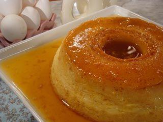 flan casero con caramelo recetas estefan a colombo On flan casero utilisima