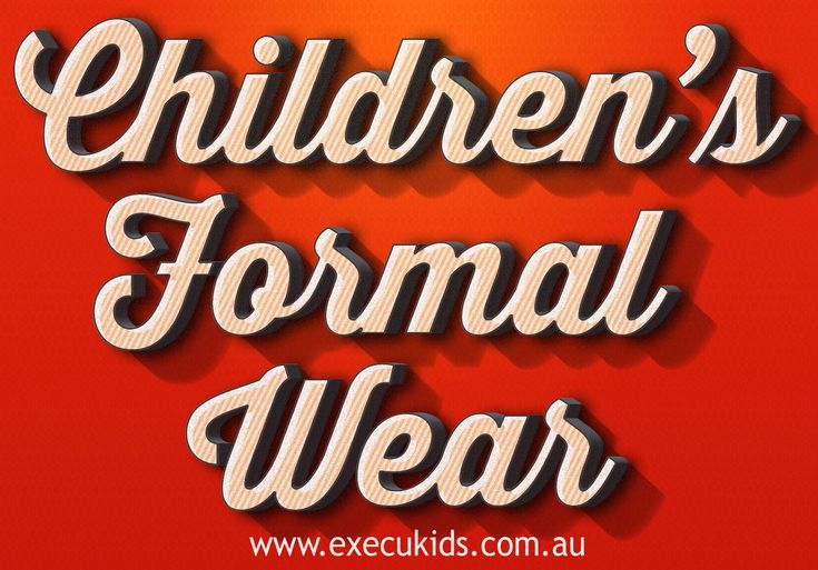 Children's formal wear is basically just miniature versions of adult clothes. Try this site http://www.execukids.com.au for more information on Children's Formal Wear. Keep in mind that children run around a lot and get into many 'sticky' situations, so buy clothes that are appropriate for their playful behavior as well as the occasion. Therefore it is important that you choose the best Children's Formal Wear. Follow us https://boyssuitss.wordpress.com/2015/08/21/boyssuits/