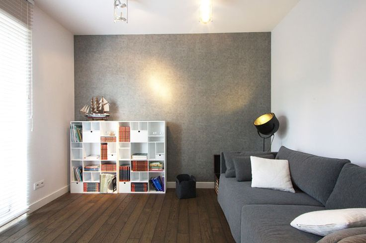 Interior Design: Incredible Gray Along With Clear Poland Apartment Living Room Ideas from Apartment Design in Natural yet Modern Concepts