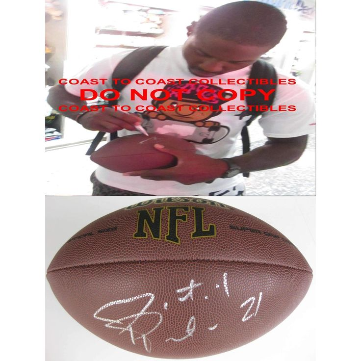 Patrick Peterson, Arizona Cardinals, LSU Tigers, Signed, Autographed, Nfl Football, a Coa with the Proof Photo of Patrick Signing Will Be Included with the Football