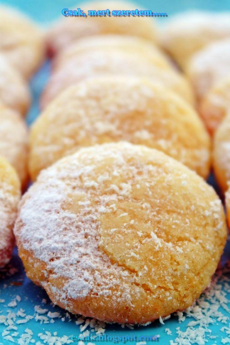 Keksz Blog: Kókuszos-fehér csokoládés pöfeteg (kókuszos keksz)
