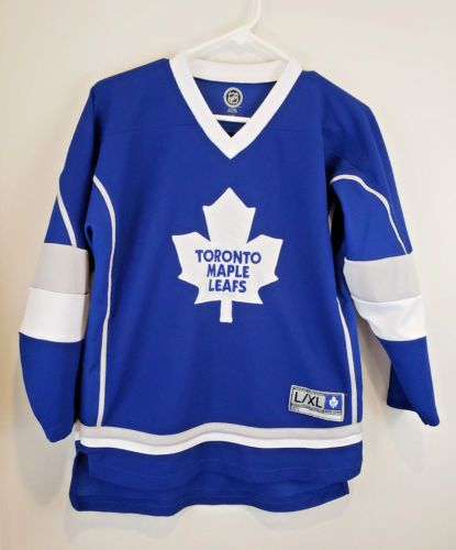 e9412d052 Toronto-MAPLE-LEAFS-Jersey-81-Phil-KESSEL-Replica-Size-Youth-L-XL-Hockey-NHL