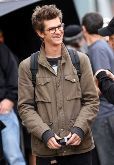 Snap This: Andrew Garfield Is Rocking the Peter Parker Glasses