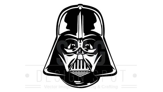 Darth Vader Head Front Svg Dxf Eps Png Star Wars Svg Darth Vader Head Darth Vader Star Wars