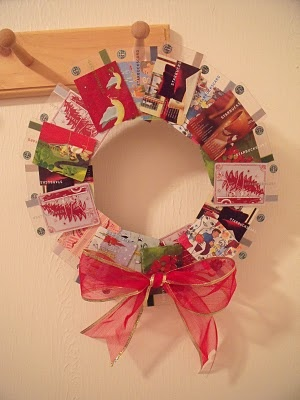 The 25 best gift card displays ideas on pinterest gift card wreath made from starbucks gift cards negle Choice Image