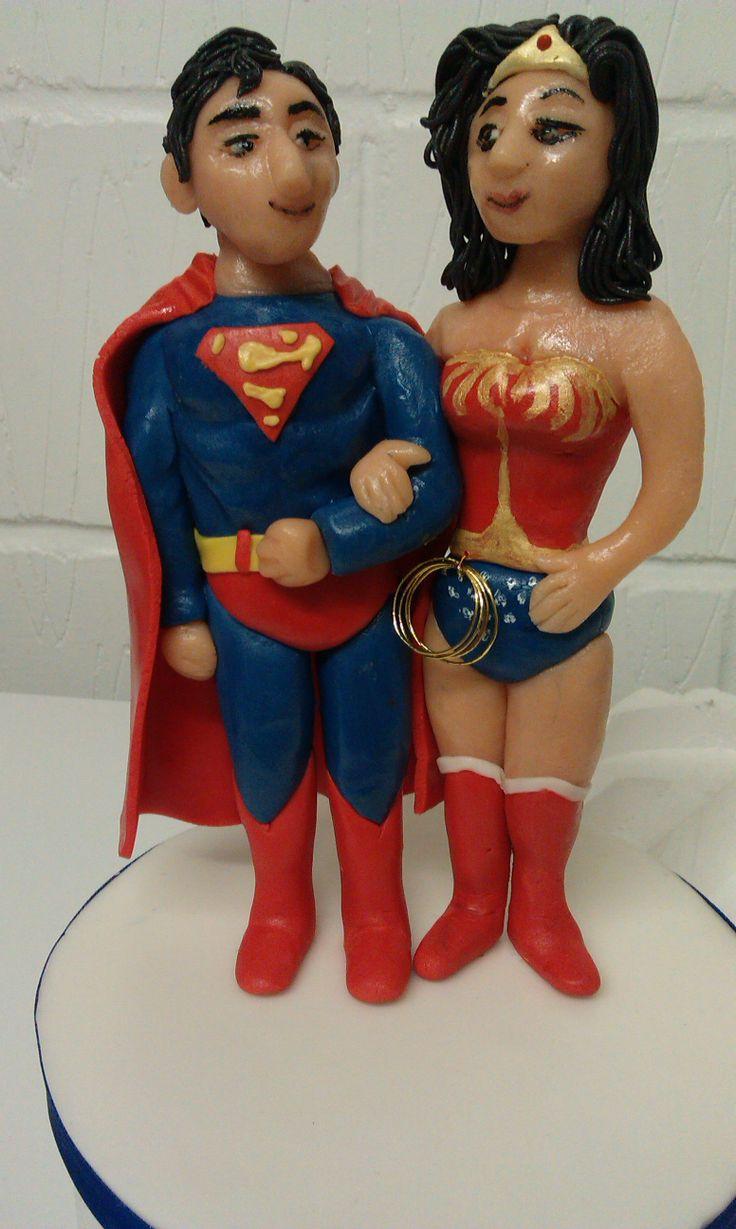 Superhero Sugarpaste Cake Topper