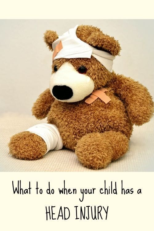 What to do when your child has a head injury