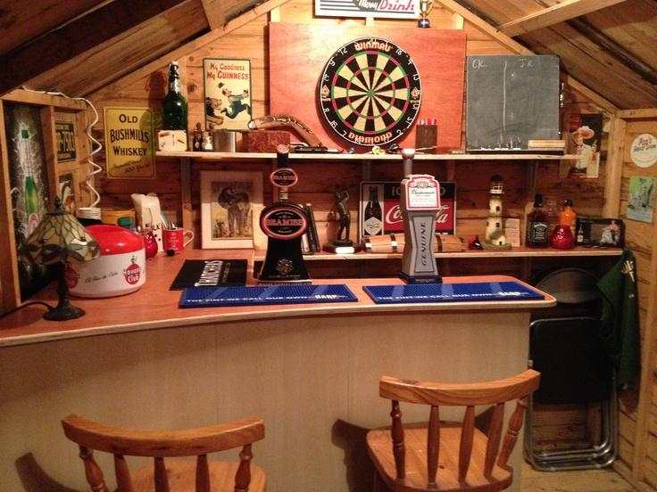 Man Cave Garden Bar : Images about pub shed on pinterest gardens man