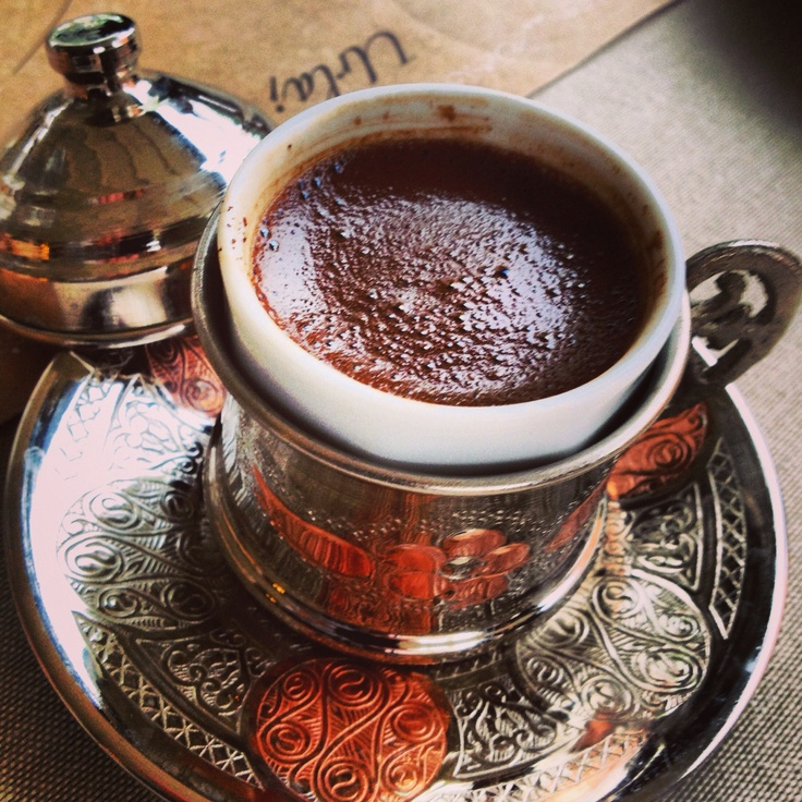 Turkish coffee in Izmir, love Turkey (and coffee!) http://www.magnificentturkey.com/ #turkish #coffee #turkey