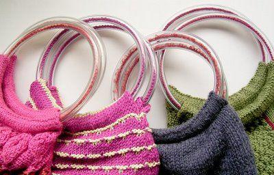 TUTORIAL: tutti i modi per mettere i manici alla vostra borsa in fettuccia - CROCHET BAGS FREE PATTERNS