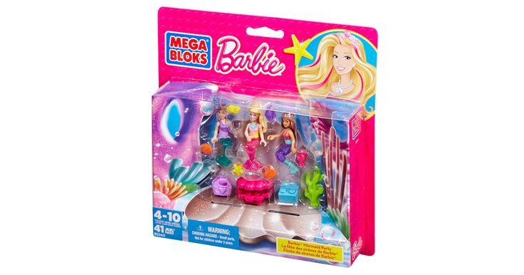 Barbie - Build 'n Play Mermaid Party | Mega Bloks