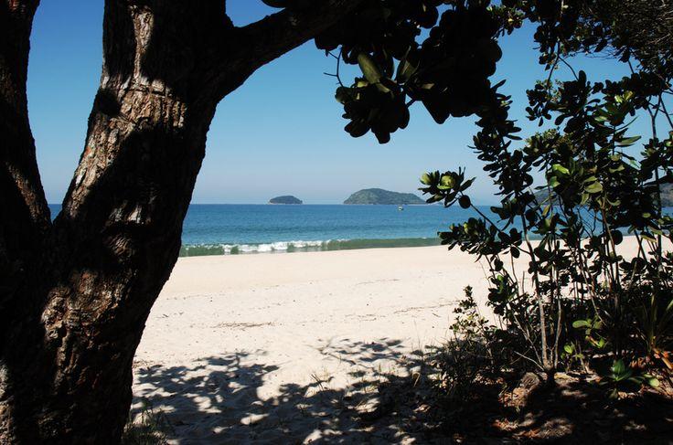 Praia do Puruba, Ubatuba  Para chegar à extensa faixa de areia branca da Praia da Puruba é preciso fazer uma travessia com barqueiros da prefeitura (grátis) ou particulares. Deserta e com vegetação nativa preservada, já foi cenário de filmes e novelas. Fica a 25 quilômetros do centro de Ubatuba