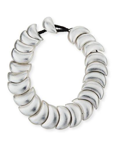 Viktoria Hayman Swirl Statement Collar Necklace mSXq1ufW8M