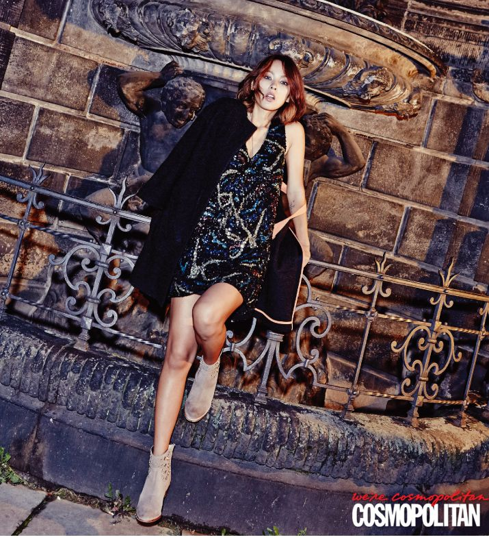 Lee Hyori - Cosmopolitan Magazine October Issue '14