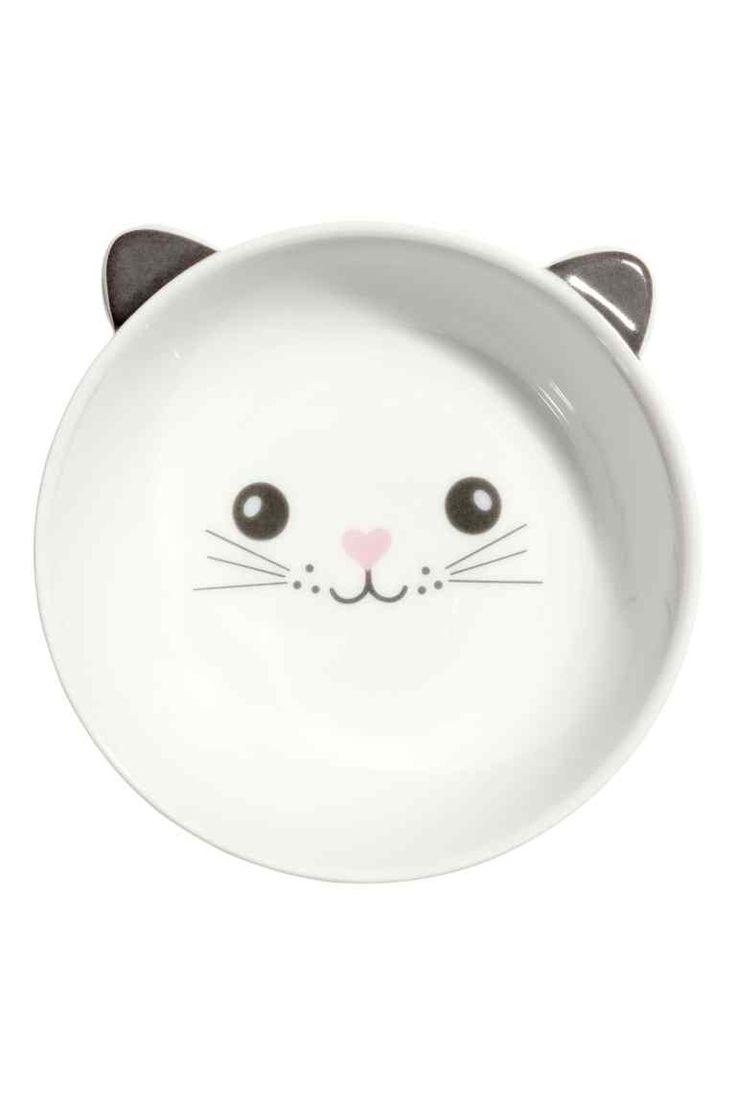 H&M Home : Petit bol: Petit bol en céramique avec motif imprimé. Hauteur 4 cm, diamètre 13 cm.