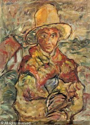 CZYZEWSKI Tytus - Portret chlopca w kapeluszu