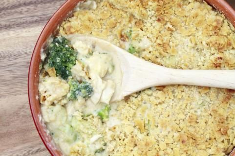 Healthy broccoli casserole makeover. Much better than the orginal!