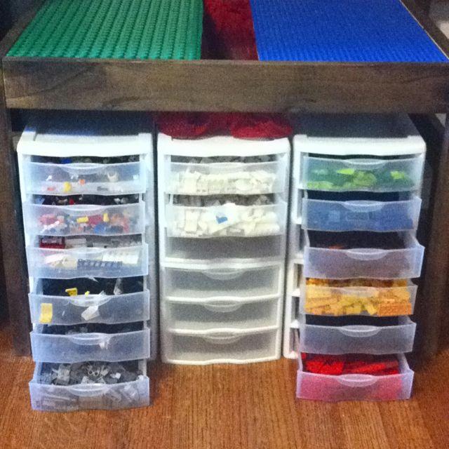 lego organization for alex