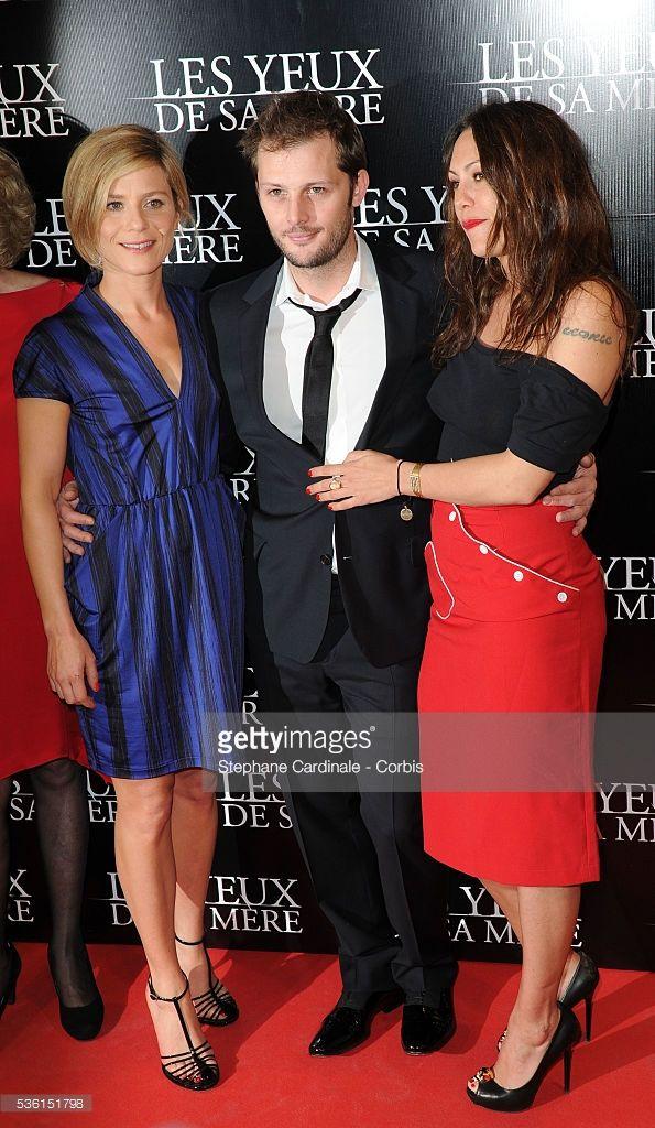 Photo d'actualité : Marina Fois, Nicolas Duvauchelle and Karole...