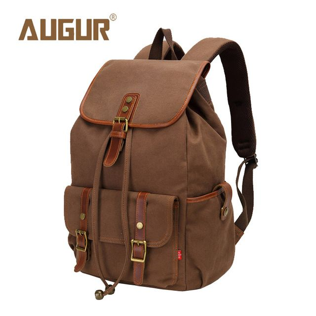 Fair price AUGUR Brand New Fashion Backpack Women Mens Designer Backpack Canvas Retro School Bags For Teenagers HT100604 just only $26.97 with free shipping worldwide  #backpacksformen Plese click on picture to see our special price for you