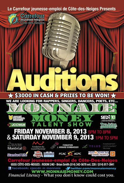 auditions flyers
