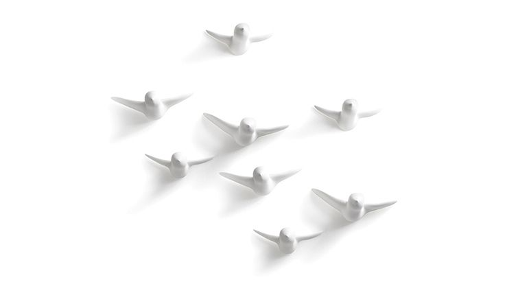 MONOQI | Set of 8 Bird Hooks